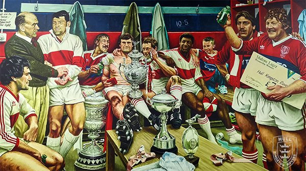 Jamie Cooper: 'Dream Scene'. Commissioned to celebrate the 135th anniversary of the Club The painting was unveiled on November 16th 2016